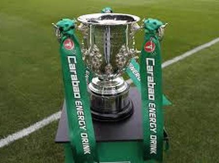 Wednesday night carabao cup matches results