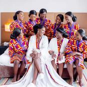Ladies: You Will Never Go For Wrong Bridesmaids Dresses After Seeing These Stunning Outfits (Photos)