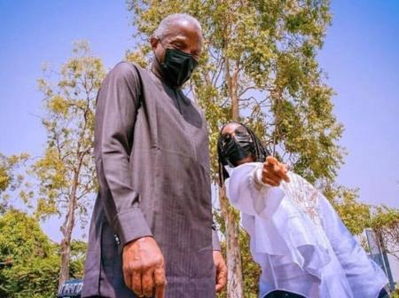 Check Out Singer, Asa's Beautiful Pictures With Vice President of Nigeria