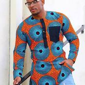 If You Want Latest Ankara Long Sleeves For Men, Check Out These Ones