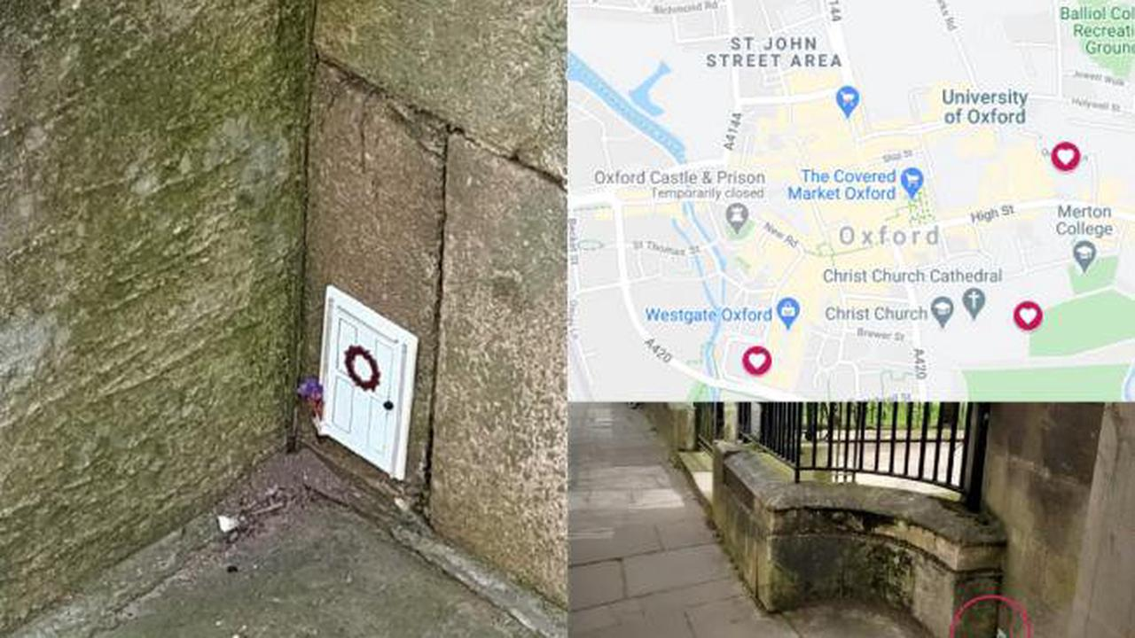 MAPPED: Where to find a tiny door in Oxford