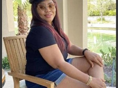 See Reactions As Regina Daniel's Mom Shared Her Photo Her on Bum shot.