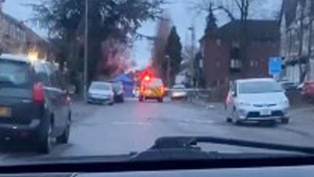 Live updates - road sealed off after 'stabbing'