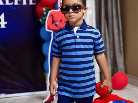 Vivian Jill's Son Is 4 Years Today, Check Out Heart Touching Message She Wrote For Him