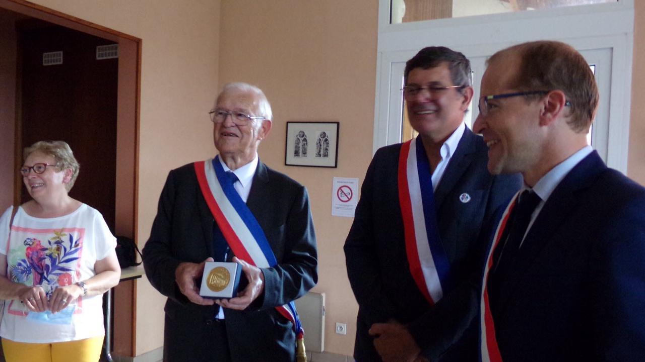 61 ans d'engagement municipal récompensés