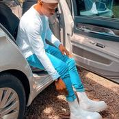 Kenyans Go Wild Over Otile Brown's New Shoes And Wondered Whether He Can Actually Walk In Them