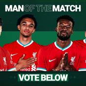 See Who Liverpool Fans Voted As The Man Of The Match After His Impressive Display Against Sheffield
