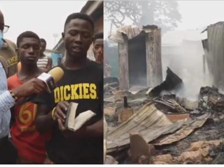 How Bible survived the Odawna market fire disaster.