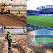 Very soon Surulere stadium will be like Stamford Bridge, Check out how beautiful FG is renovating it