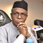 After Sacking 4,000 Workers Last Week, El Rufai Plans To Sack More - Check Out The Reason Why