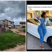 See what man did to the house he built for his girlfriend after she did this to him