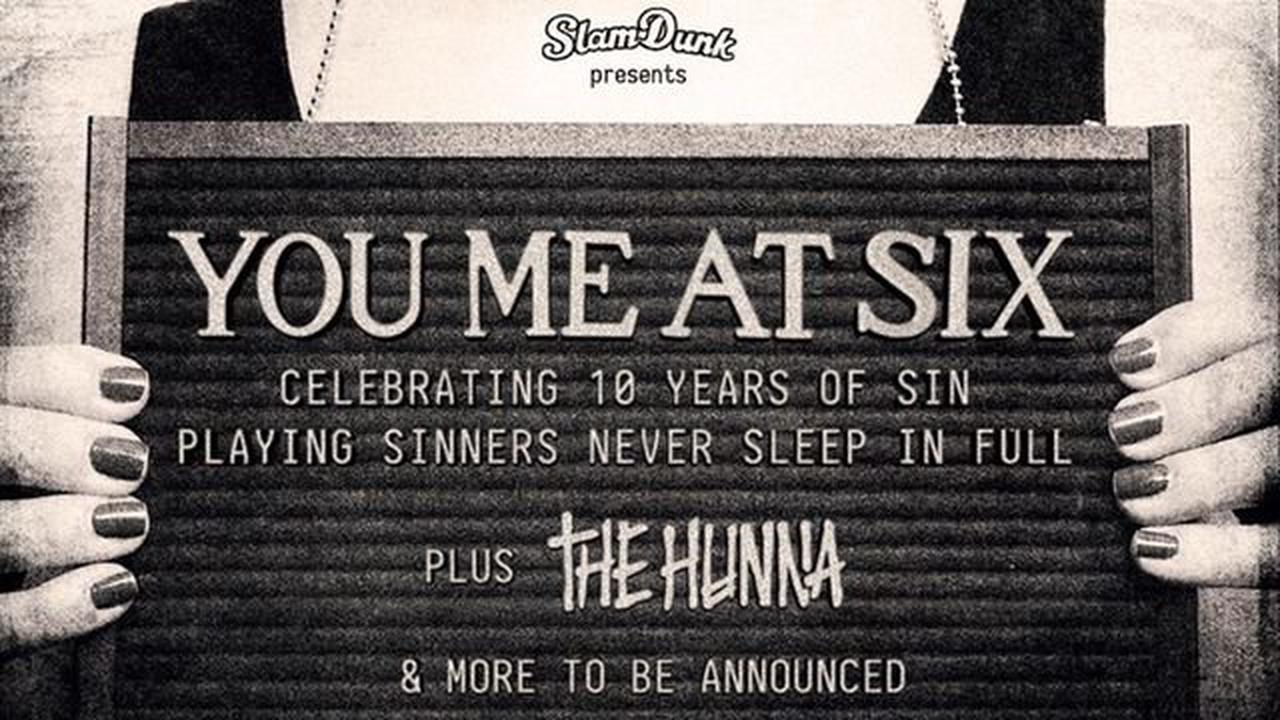 You Me At Six to play headline show at Hatfield's Slam Dunk Festival site
