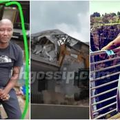Man disclose 10 Reasons on why he demolished a house for his beautiful wife