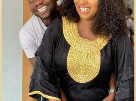 Yoruba Actress Mide Martins Shares Loved Up Picture With Her Actor Husband Afeez Owo.