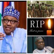 Today's Headlines: Prominent Nigerian Dies, Buhari Tells Obasanjo