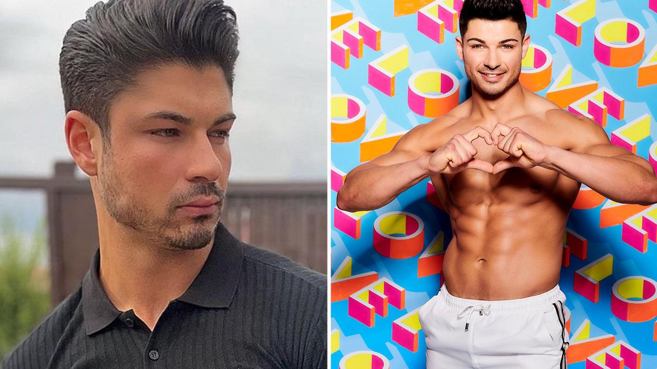 Love Island star Anton Danyluk is almost unrecognisable as he reveals very different new look