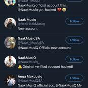 Fans confused as to which account of Naakmusiq are they suppose to follow.