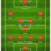 How Liverpool could lineup against Burnley and beat them