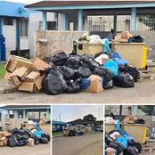 Les populations se plaignent des ordures au service des maladies infectieuses du CHU de Treichville