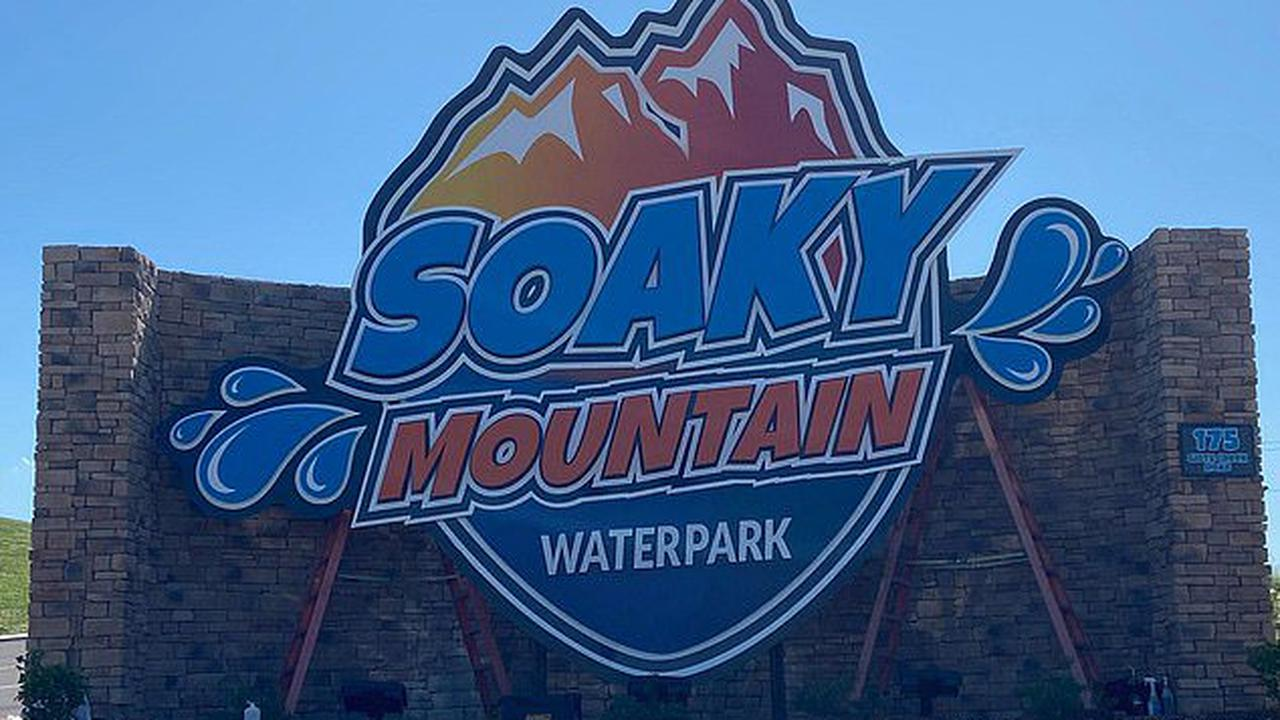Two people are injured after being shot at Soaky Mountain Waterpark in Tennessee two months after its grand opening