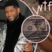 Watch : Usher Accused Of Paying Strippers With FAKE Money -- With His Face On it