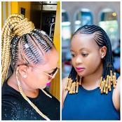 Ladies here are simple but the best hairstyles to try out