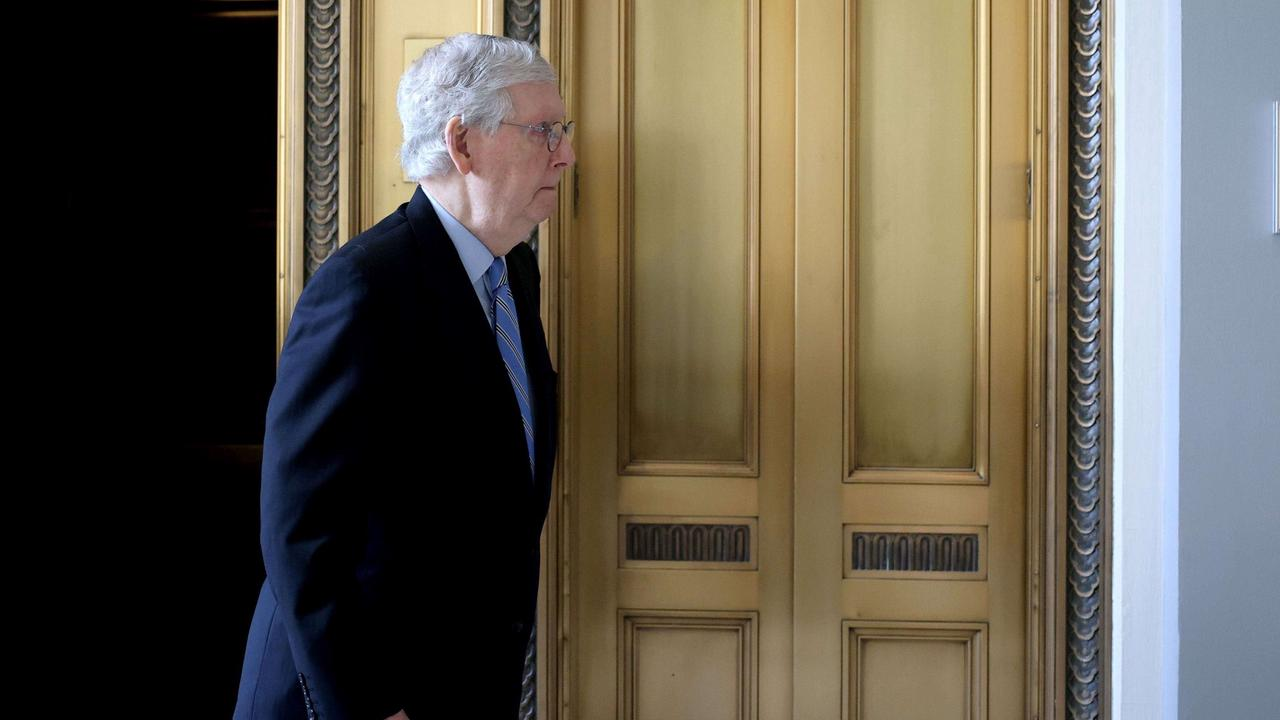 McConnell signals he's willing to block Biden's Supreme Court nominees if the GOP wins the Senate