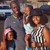Meet Reneilwe Letsholonyane and his beautiful wife Mpho, and their children.