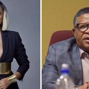 See how Fikile Mbalula embarrassed himself In front of Lerato Kganyago