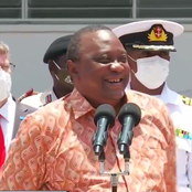 What Uhuru Said After Being Asked If He'll Be Receiving Injection For COVID-19 Vaccine [Video]
