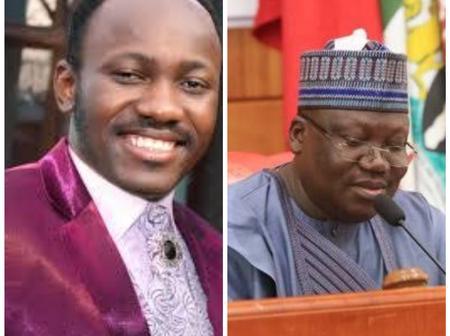 Today Headlines: Lawan Blames Religion For Hindering Nigeria's Greatness, Suleiman Release Prophecy