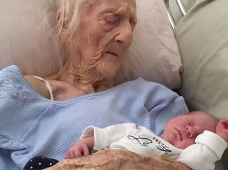 101 year old woman gives birth to her 17th child after successful ovary transplant.