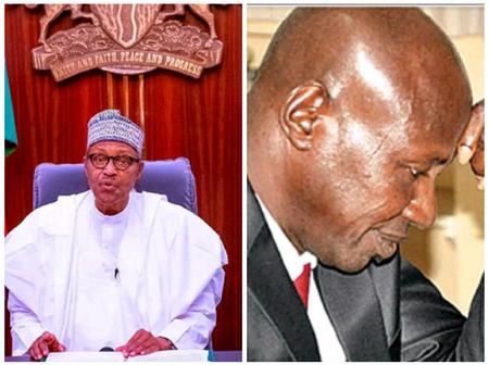See Reactions Of Nigerians After Pres. Buhari Received Judicial Report On The Case Of Ibrahim Magu