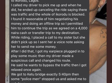 Young man claims he was extorted by police Officers