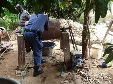Zama Zamas captured: suspected illegal miners arrested while allegedly processing gold in Limpopo