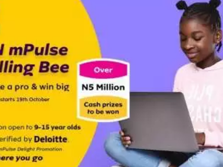 N2m Grant Scholarship: See How To Apply For 2020 MTN Nigeria Spelling Bee Competition