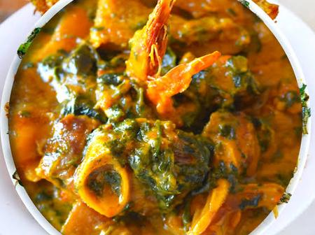 Stop Wasting Money At Restaurants, Check Out These Simple Steps To Prepare Oha Soup