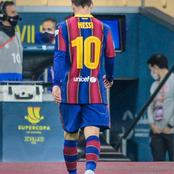 Lionel Messi Sees Red For the First Time in his Barcalona Career