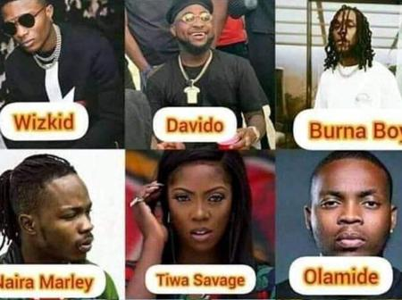 Which One Among These (6) Musicians Do You Think Should Quit Music Industry If You're To Choose One?