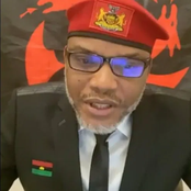 Anybody against Eastern Security Network is a terrorist or slave, Nnamdi Kanu blows hot.