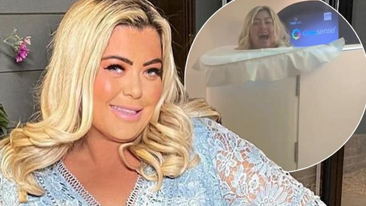 Gemma Collins 'hooked on ice chambers' as she continues weight loss mission