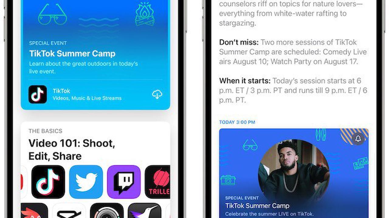 iOS 15: App Store Events zeigen sich erstmals