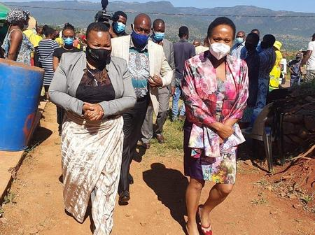 No dry eye in sight as the MEC of health and Education visit the family of a deceased learner. Read