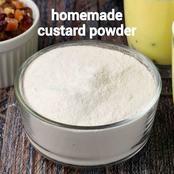 How to make custard powder at home