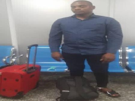 Henry Okonkwo: Nigerian Drug Trafficker Excretes Cocaine Worth N423 million