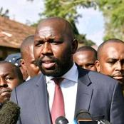"""""""There Are Many Nicodemus Coming To See The Deputy President William Ruto At Night"""" Murkomen Says"""