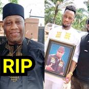 SAD: Burial Photos Of Nollywood Actor, Ernest Asuzu Who Slumped and Died In January