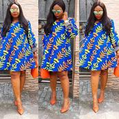 Contemplating On What To Wear? Here Are Decent Short Ankara Gown Styles For Curvy Ladies