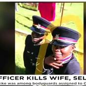 Sombre Mood As A Police Officer Killed By Her Husband Is Laid To Rest In Kakamega
