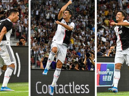 Cristiano Ronaldo Breaks Another Record As He Becomes The First Football Player To Do This